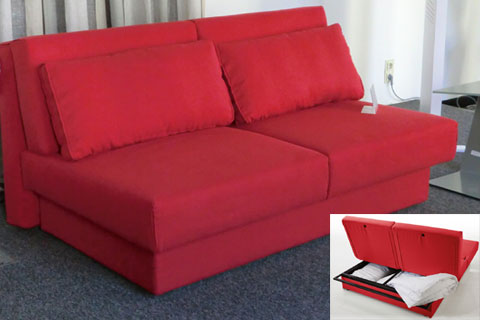 Rutal wohndesign for Bequemes bettsofa